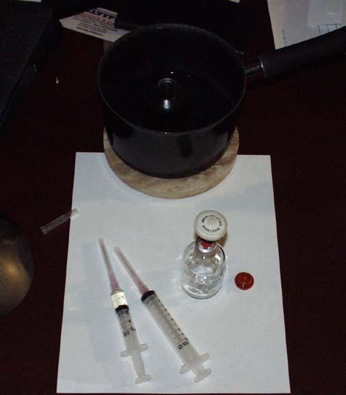 making tren acetate from powder